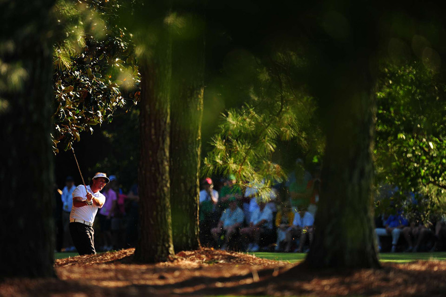 Mickelson has birdied the 18th hole all three days.