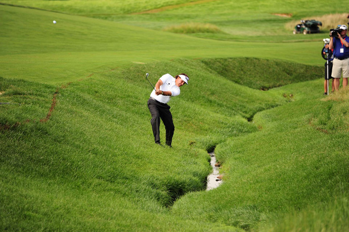 Mickelson shot a two-over 72.