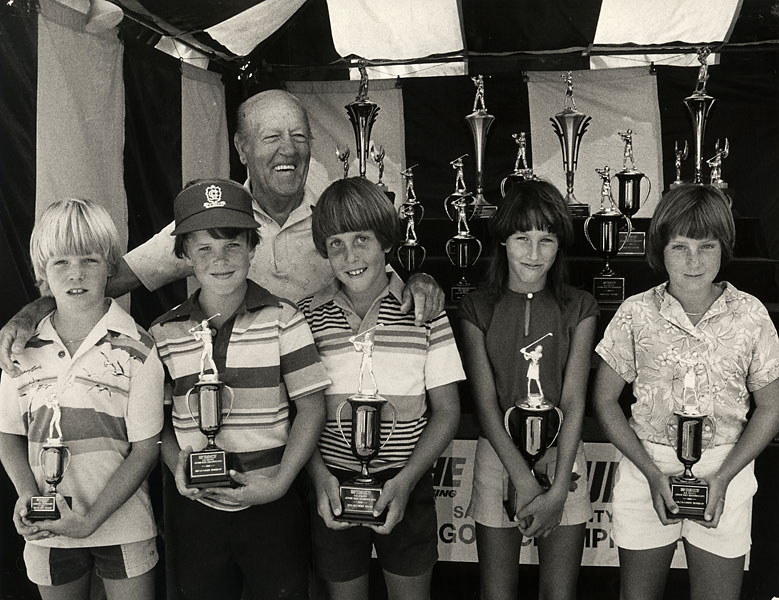 Mickelson won the 9- and 10-year-old division at the 1980 Junior World Golf Championship.