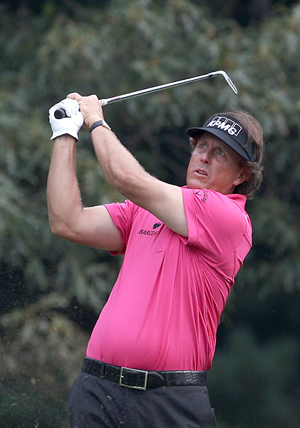 Phil Mickelson, beloved by the New York fans, nearly won both the '02 and '09 U.S. Opens at Bethpage.