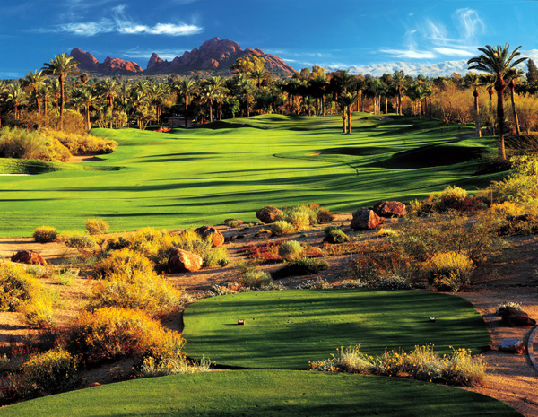 The Phoenician | Scottsdale, Ariz.                                   Green fees: $60-$200                                   480-423-2449, thephoenician.com