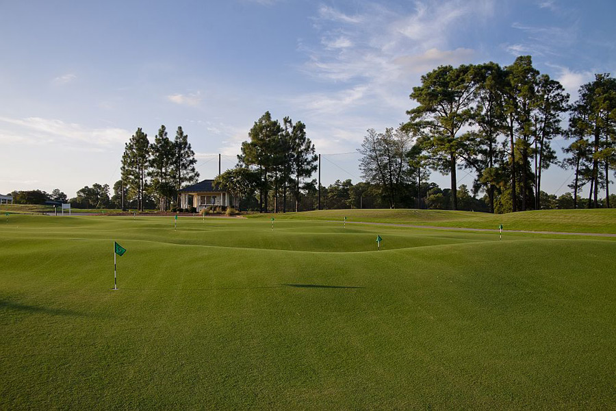 The putting green is 15,000 square-feet.