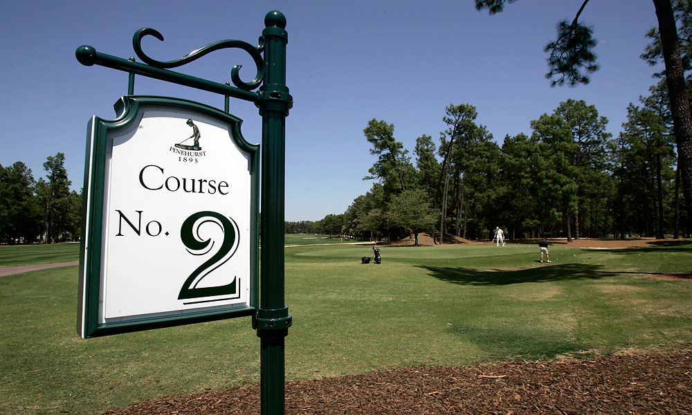 The No. 2 Course at Pinehurst last hosted the U.S. Open in 2005, when Michael Campbell won. Pinehurst has held the U.S. Open three times and will be the host again in 2024.