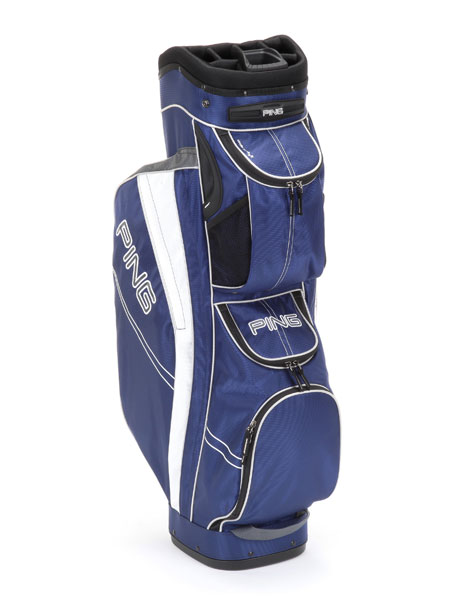 Ping Traverse, ($170; ping.com)                       The Traverse offers the best elements of both stand bags and cart bags. Efficient and lightweight at 5.5 pounds, the bag features 14 individual dividers, including an internal molded putter tube. Nine pockets include a cooler pouch and two large apparel pockets, while an integrated strap channel prevents pocket obstruction when the bag is secured to the cart.