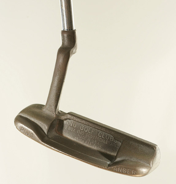 A look at some of the groundbreaking products that have changed the game of golf.                                              Ping Anser Putter                       The club that put the company on the map was invented in Ping founder Karsten Solheim's garage in 1966. His wife, Louise, suggested leaving out the W so Anser would fit on the putter's toe. Ansers have won more than 500 pro events, including 26 majors.