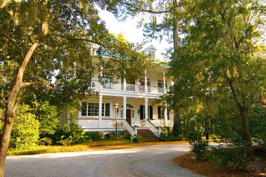 This $1.9 million Southern plantation-style home in Spring Island, S.C., includes 3.7 wooded acres near the 17th hole of Old Tabby Links.