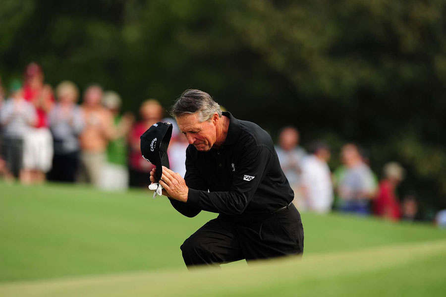 Gary Player, who won the first of three green jackets in 1961, played in his 52nd and final Masters in 2009.