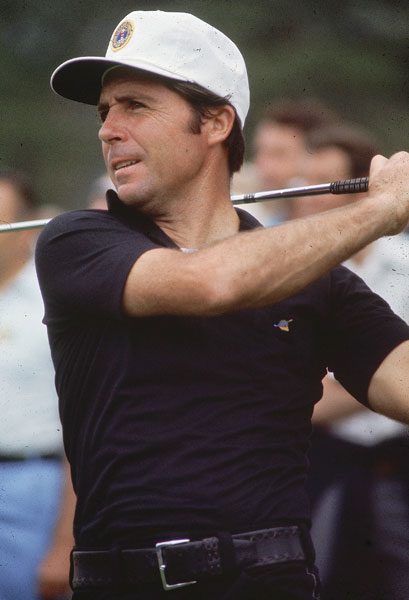 Thirteen years after winning his first green jacket, Gary Player captured his second with a two-shot win at the 1974 Masters.