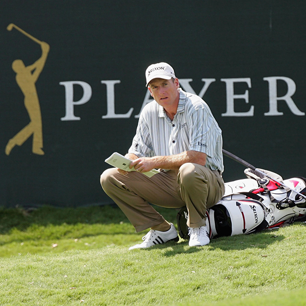 A double bogey on No. 17 left Jim Furyk four strokes off the lead.                            • See the latest news about Jim Furyk