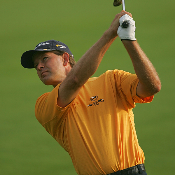 Retief Goosen was the only player in the first round to finish without a bogey. On Friday, Goosen made four bogeys and two birdies for a two-over 74.