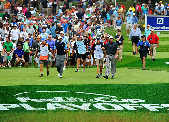 The Deutsche Bank Championship is the second tournament in the four-event FedEx Cup Playoffs.