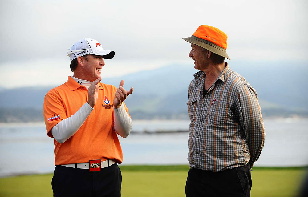 D.A. Points                           How He Got to Kapalua: Won the AT&T Pebble Beach National Pro-Am (with Bill Murray, right)