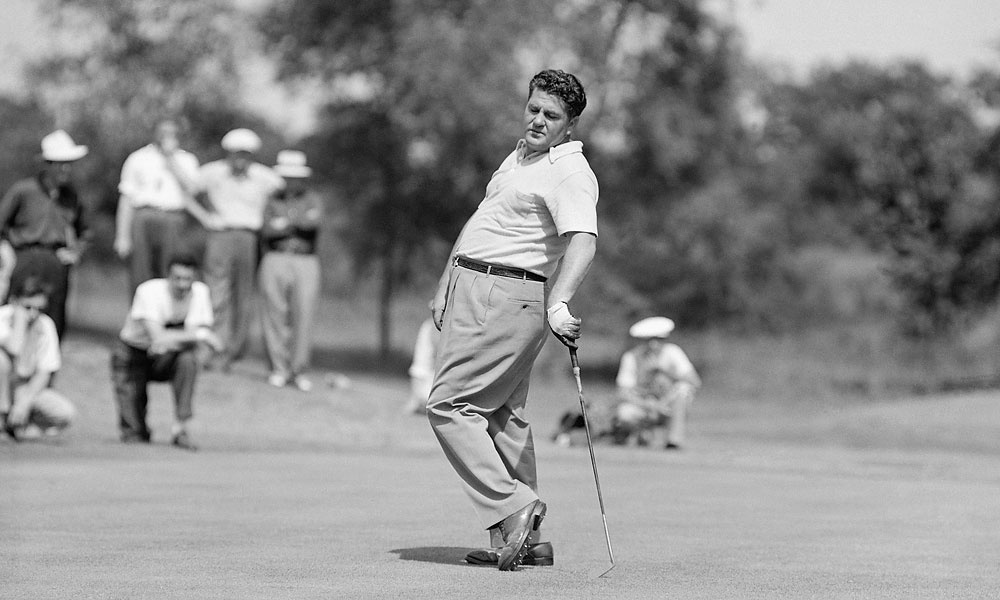 Porky Oliver                       The eight-time PGA Tour winner is seen here at the 1948 PGA Championship in St. Louis.