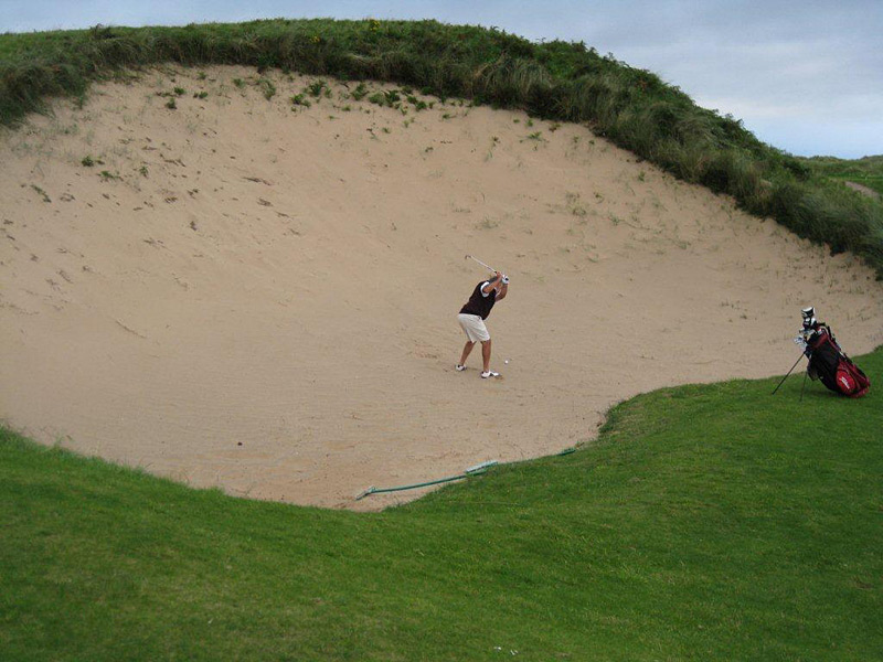 Royal Portrush Golf Club -- Portrush, County Antrim, Northern Ireland                           Submitted by John A. Christopher