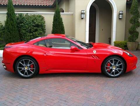 Among current professional golfers, no one loves cars as much as the man from Hertfordshire, England. Poulter routinely tweets pictures of his beautiful rides like this red Ferrari.