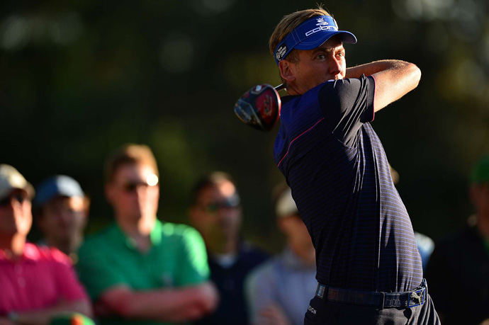 Ian Poulter missed the cut after rounds of 76 and 75.