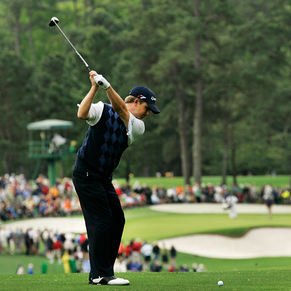 David Toms has missed the cut three years in a row at the Masters.