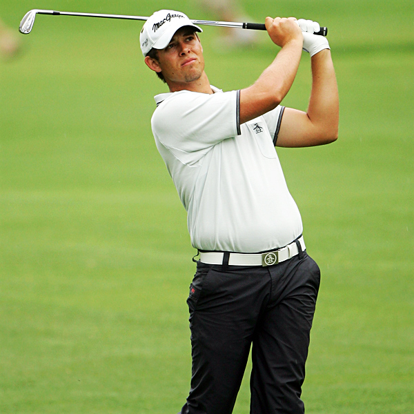 Aaron Baddeley is making his first appearance since 2001 at the Masters.