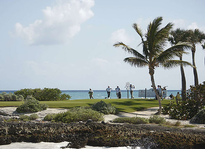 8. Cap Cana Resort (Punta Espada), Santa Domingo, Dominican Republic: Bluffs, beach and jungle are constant companions on this modern Caribbean classic that formerly played host to a Champions Tour event. Most memorable is the 250-yard, par-3 13th, which features a dramatic, Cypress Point-like carry over the Atlantic. Iguana-filled caves, native roosters and generous Paspalum fairways are added highlights.