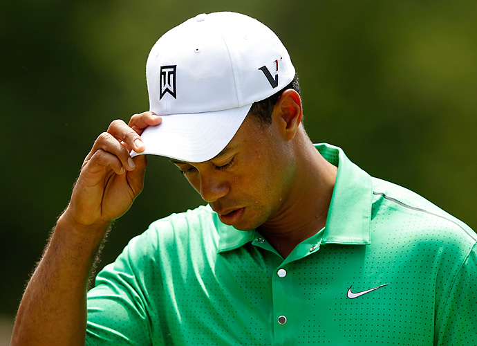 2012 Wells Fargo Championship: Woods shot 71-73 at Quail Hollow to miss the cut twice at the same venue or tournament for the first time in his career.