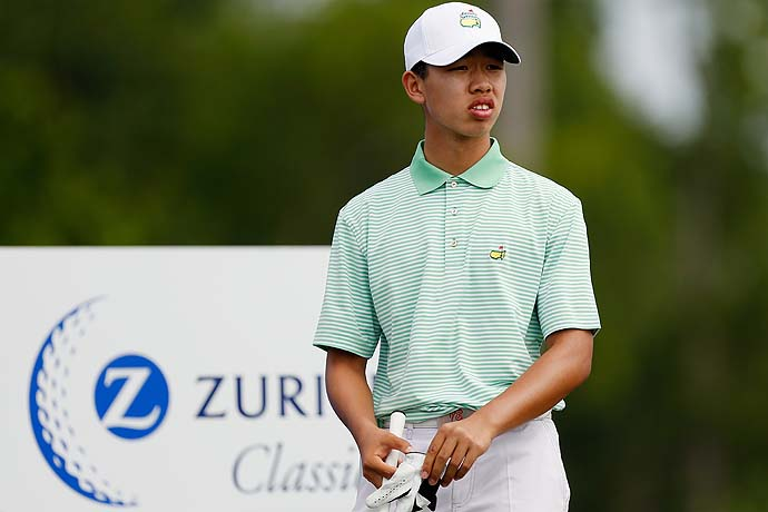 """To tell the truth, he does play slow.""                           Carl Yuan, a 16-year-old from China, on Tianlang Guan, who was penalized for slow play at the Masters. Yuan has played amateur events with Guan."