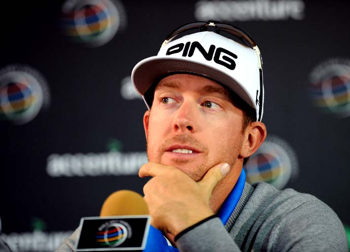 """Everything bothers you.  And if someone asks you how was your day, you want to punch them in the face.""                       --Hunter Mahan on what it's like losing in the first round of the Accenture Match Play Championship."