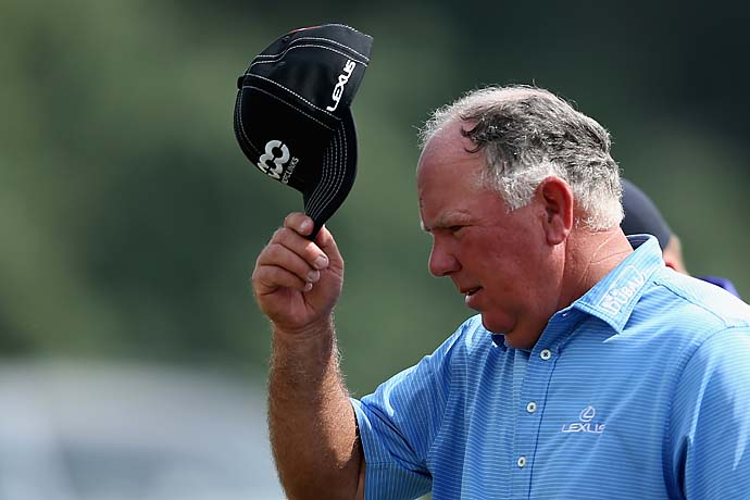 """You got to be very careful, as we all know, at Augusta.  I don't want Mr. Payne to be upset at me.""--Mark O'Meara on texting Tiger Woods during a practice round at Augusta National."