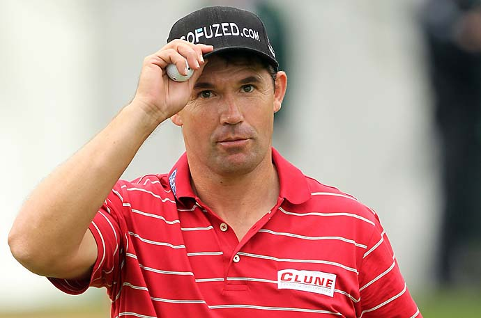 """Consistency is highly overrated.  We all want to be consistent as professional golfers, but generally people that are consistent are mediocre.""--Padraig Harrington on the importance of peaking at the right time in golf."