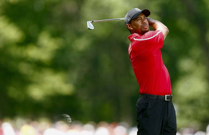 """It's happened my entire life, and it's happened my entire career. So that doesn't surprise me.  It exists all around the world, not just in the sport of golf. It exists everywhere. I know that a lot of people are trying to make a difference and trying to make it more fair for us all.""                       --Tiger Woods on dealing with incidents like Sergio Garcia's ""fried chicken"" comment."