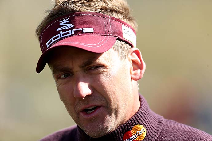 """I'm not a player of golf. I don't go home and play hundreds of holes. I'm a practicer. So it doesn't bother me whether I don't play golf for six months on a golf course. That's irrelevant for me.""--Ian Poulter on whether it makes a difference that TPC San Antonio is a much different style course than Augusta National."