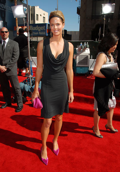 LPGA star Anna Rawson at the 2007 ESPY awards.