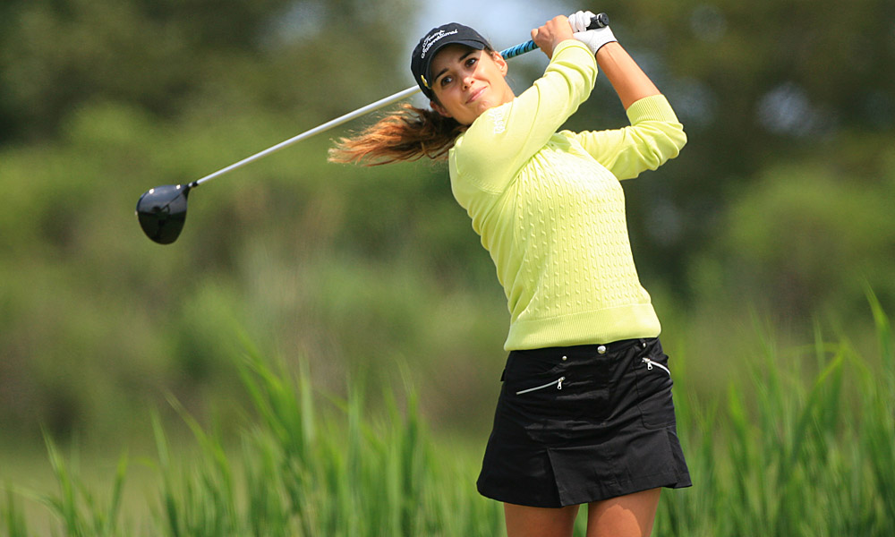 Recari at the 2011 ShopRite LPGA Classic.
