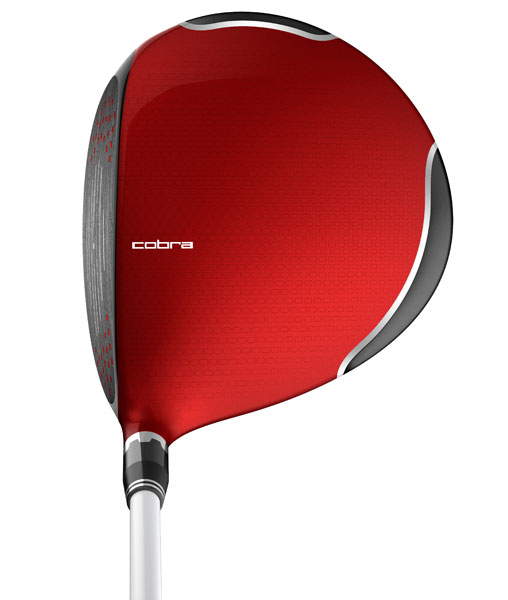 Cobra, AMP Cell Driver, $299, hits pro shops in February 2013, also available in blue, silver, and orange, (Buy Cobra clubs now)
