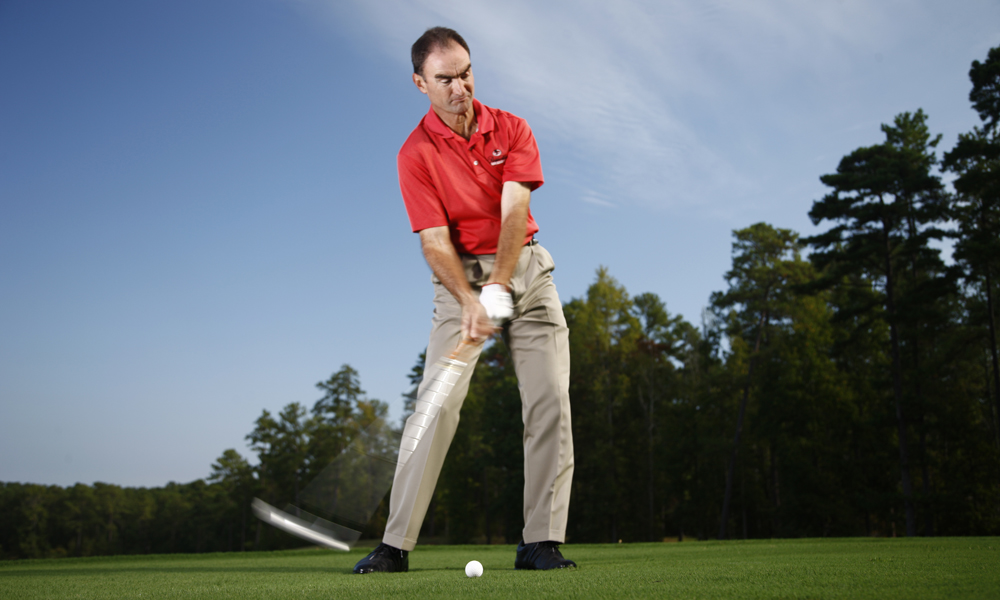 """Work on your short game as much as your full swing.""                           Charlie King, Reynolds Golf Academy at Reynolds Golf Plantation, Greensboro, Ga.                           See Charlie's tip on how to use a credit card to check your aim on putts here."