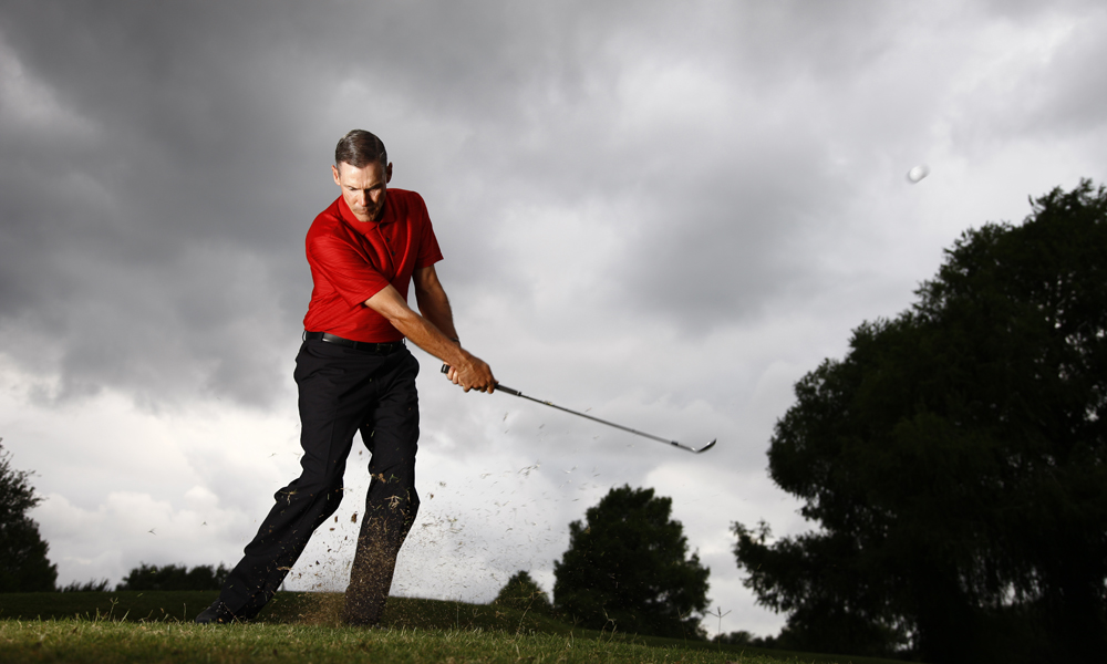 """Keep track of your statistics (fairways, greens, putts, up/downs) and decide you are going to put more time and practice into those areas that are weak. If your are an 80-shooter then there are areas of your game that are better than 80 and areas that are worse than 80 and 80 is the number that you shoot at the end of the day. Players then tend to practice their strengths more than their weaknesses. If you switch to practicing your weaknesses, your game will definitely improve in the New Year.""                           Jim Murphy, Sugar Creek Country Club, Sugar Creek, Texas                           See Jim's easy way to hit a flop shot here."