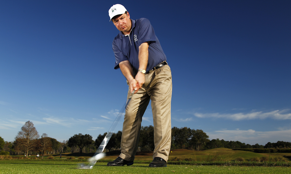 """Spend more time with their PGA Professional working on your Chipping and Putting for 2013!""                           Lou Guzzi, Talamore Country Club, Ambler, Pa.                           See Lou's tip on how to shorten your backswing to hit knockdown shots here."