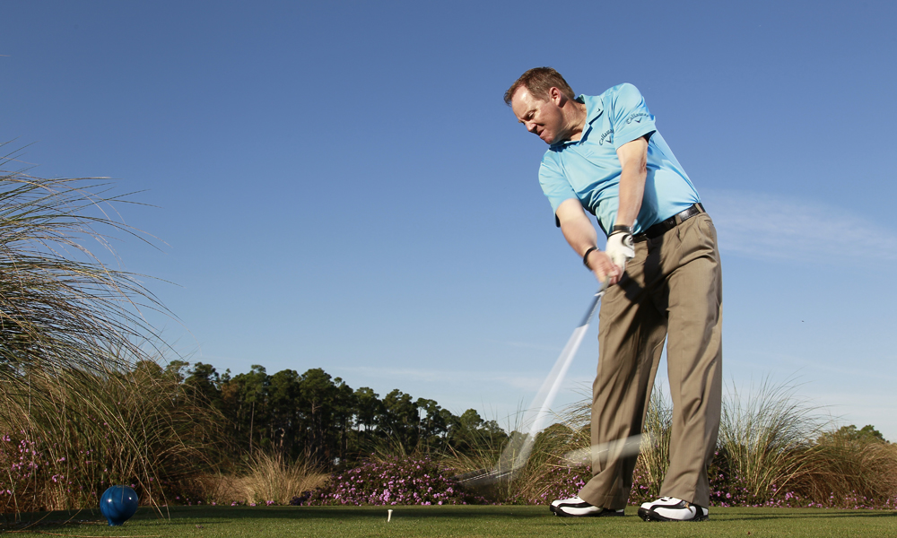"""Swing a club for one minute every day! Hit five putts every day. This will make anyone better!""                           Scott Munroe, Adios Golf Club, Coconut Creek, Fla.                            See Scott's tip on how to remove tension from your swing and create more power here."
