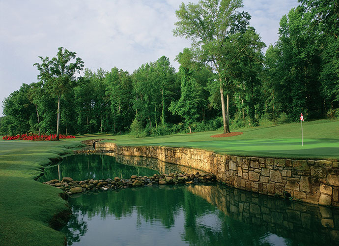 46. Reynolds Plantation (Great Waters) Greensboro, Ga.; Jack Nicklaus (1992) -- $159-$245, reynoldsplantation.com