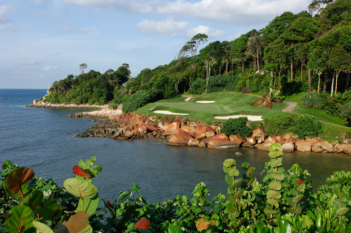 "Ria Bintan -- Indonesia                              Player Says: ""It is a wonderful course on the sea, and also a short ferry ride from my favorite city in the world, Singapore."""