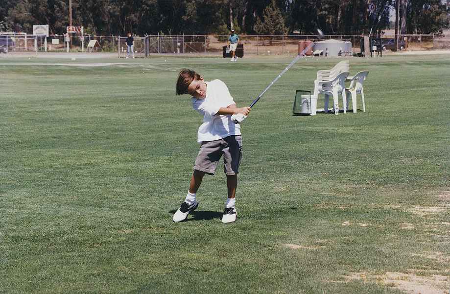 Rickie Fowler honed his game at a driving range, not a country club.