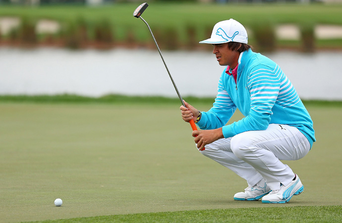Rickie Fowler opened with a 65 on Thursday, but he backed up with a one-over 71 in the second round.