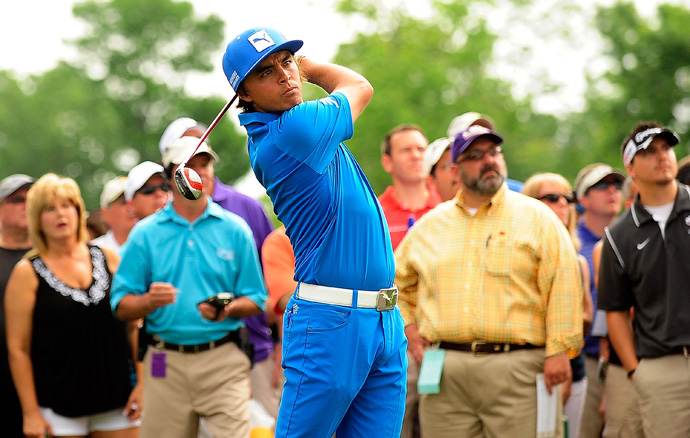 Rickie Fowler made three birdies and a bogey for a 71.