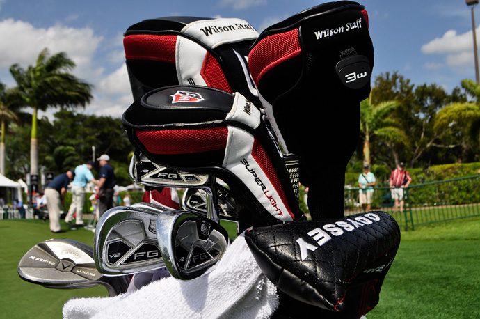 Ricky Barnes will be gunning for pins this week with Wilson FG Tour V2 irons.