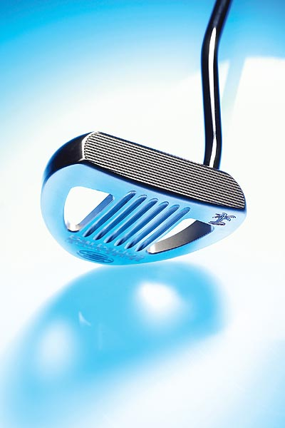 "THE WINNER Rife Barbados$179; rifeputters.com                                               It was a tight race to the finish, but the underdog in this competition prevailed in the end. The Rife elicits a pillowy-soft, precise impact feel and sweet distance control.                                              ""Added weight through impact keeps nerves in check.""                       --Dave Doctora (7)                                              ""Good hits are so clean and pure, with zero vibration.""                       --Rich Sullivan (12)                                              ""Three parallel white lines create easy targeting.""                       --Adam Zisserman (11)                                              ""On-center hits feel like a light tap on the shoulder. You can feel it and know it's going straight.""                       --Dan DeVries (handicap 14)                                              ""Grooved face and wide sweet spot keep your putts online.""                       --Jon Kotraba (10)"