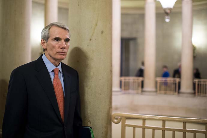 """I re-read my copy of the U.S. Constitution, and I still cannot find the section empowering Washington to spend tax dollars on golf tips.""                           --Sen. Rob Portman (R-Ohio) on the U.S. Science Foundation spending $350,000 on a study to help golfers improve their putts."
