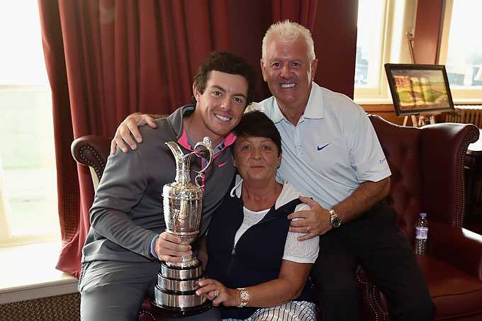 "Rory's father, Gerry, was especially happy with his son's British Open victory. He placed a bet in 2004 that his son would win the British Open in the next decade. McIlroy pushed it to the limit, but won his father $171,000. Rachel Bridge, a spokesperson for Ladbrokes, told ESPN: ""We can make a lot of money, but it's a big risk if one comes through. Unfortunately, on this one, we have egg on our face. Rory's father and his friends are having champagne on us tonight."""