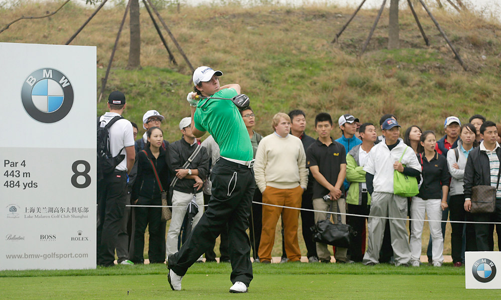 Rory McIlroy is playing the BMW Masters this week, a European tour event held in Shanghai, China.