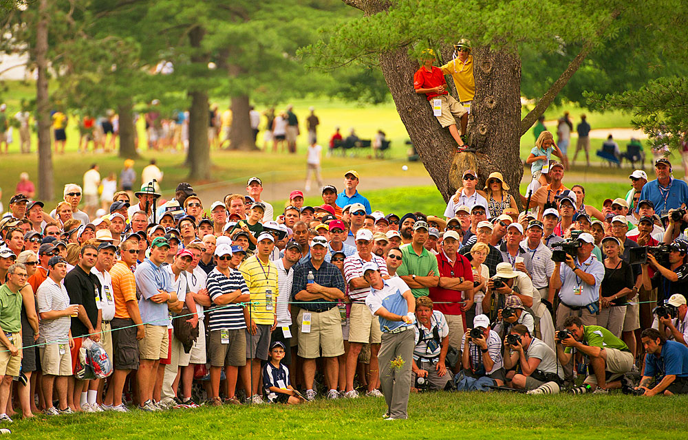 Everyone wanted to watch McIlroy as he marched toward history at the U.S. Open.