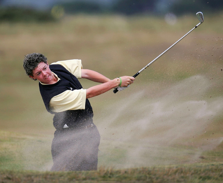 McIlroy won numerous amateur events before turning pro in September 2007.
