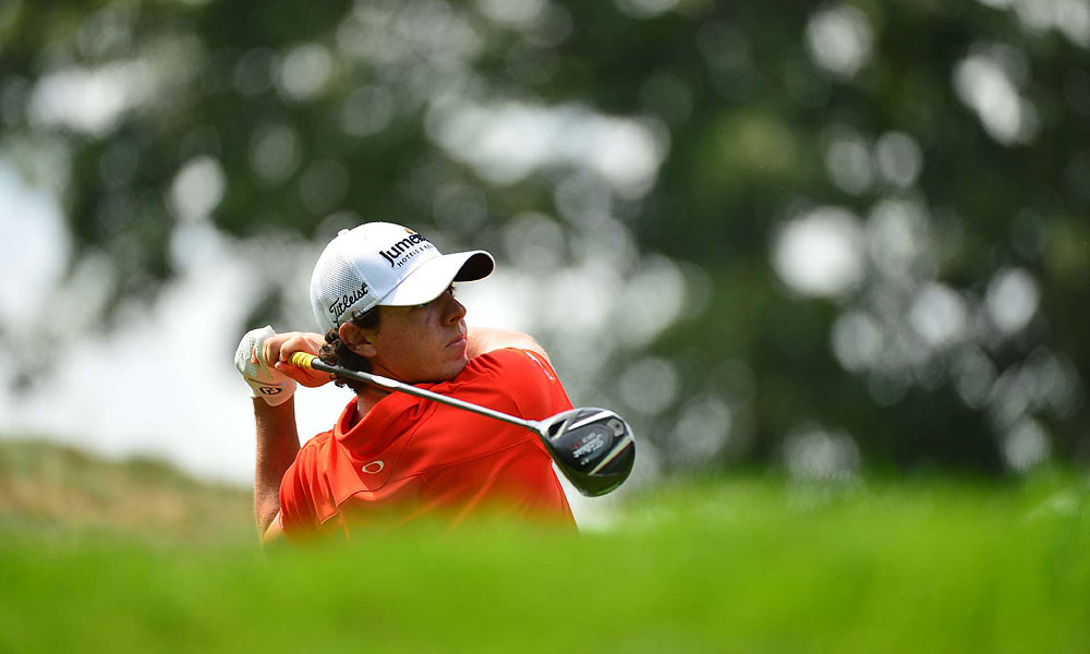 Rory McIlroy shot a 73 in the second round.
